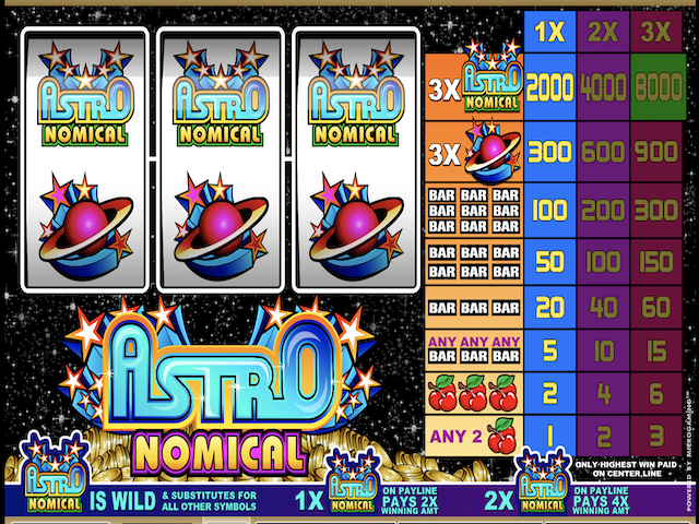 Astronomical Online Slot Game