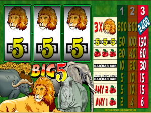 Big 5 - Online Slot Game