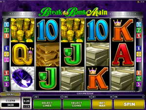 Break da Bank Again - Online Slot Game