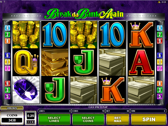 Break da Bank Again Slot Online Game