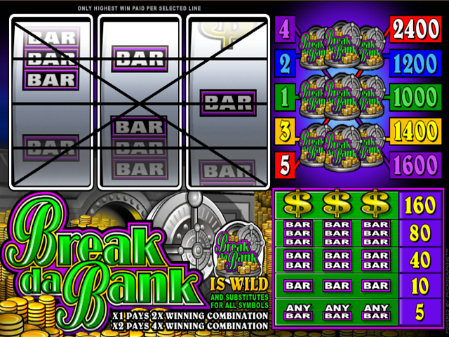 Break da Bank Online Slot Game