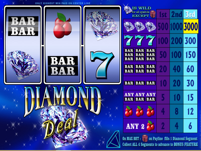 Diamond Deal Online Slot Game