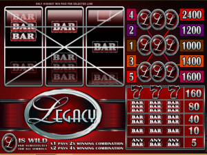 Legacy - Online Slot Game