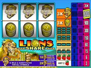 Lions Share - Online Slot Game