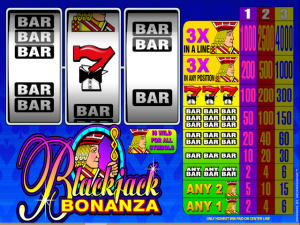 Blackjack Bonanza - Online Slot Game