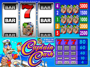 Captain Cash - Online Slot Game