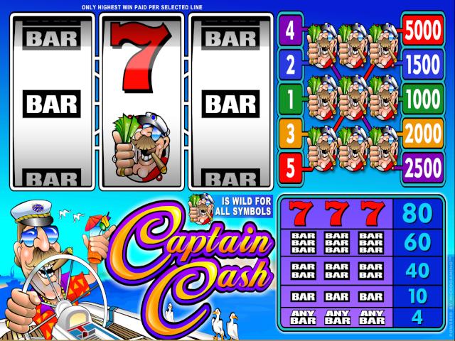 Captain Cash Online Slot Game