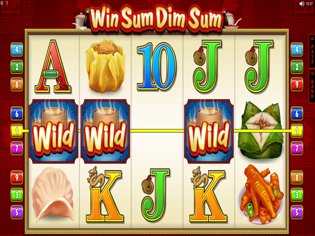 Win Sum Dim Sum Online Slot Game