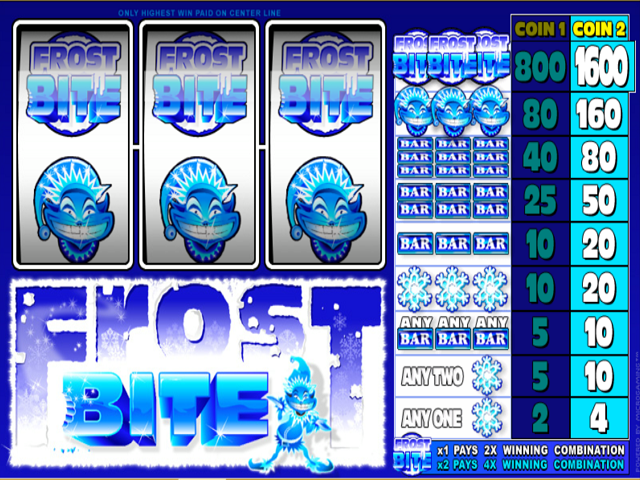 Frost Bite Online Slot Game