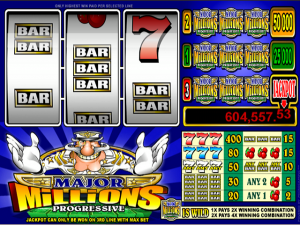 Major Millions 3-Reel - Online Slot Game