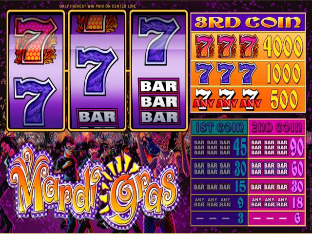 Mardi Gras Slot Online Game