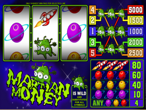 Martian Money - Online Slot Game