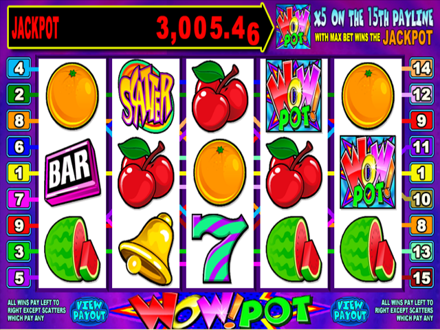 Wow 5-Reel Online Slot Game