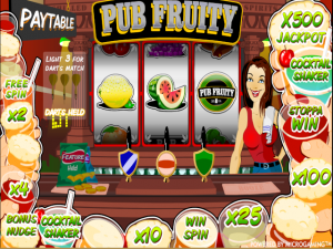 Pub Fruity - Online Slot Game