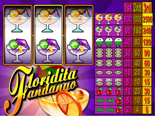 Floridita Fandango Slot Online Game