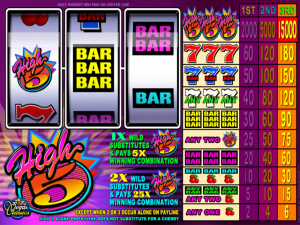 High 5 - Online Slot Game