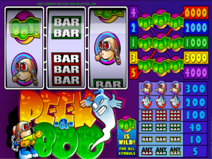 Peek-a-boo 3-Reel - Online Slot Game