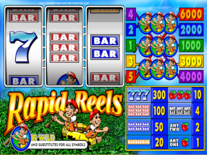 Rapid Reels - Online Slot Game