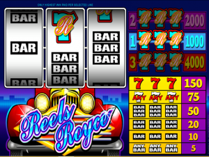 Reels Royce - Online Slot Game
