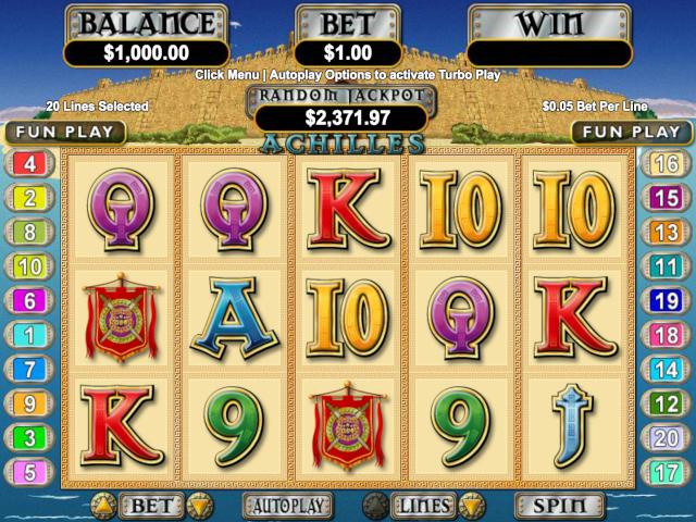 Achilles Online Slot Game
