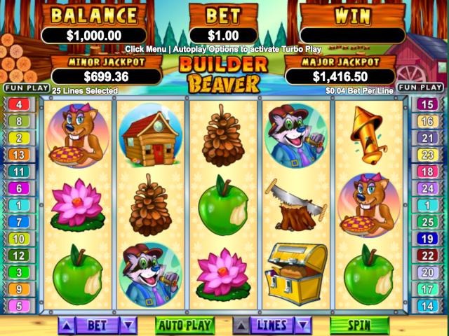 Builder Beaver Online Slot Game