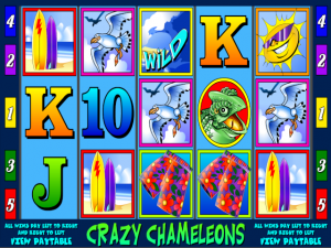 Crazy Chameleons - Online Slot Game
