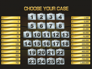 Deal or No Deal - Online Slot Game