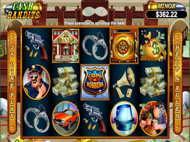 Cash Bandits Online Slot Game
