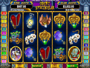 Count Spectacular - Online Slot Game
