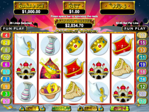 Aladdin's Wishes - Online Slot Game