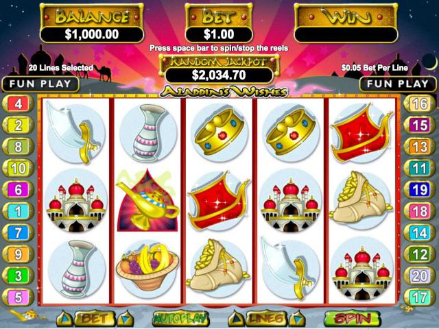 Aladdin's Wishes Slot Online Game