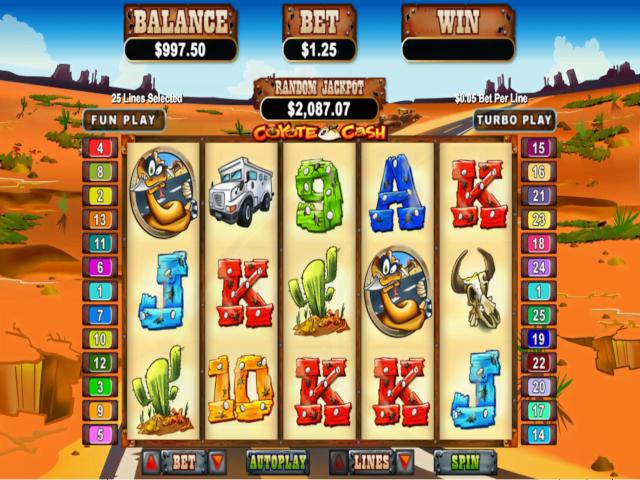 Coyote Cash Online Slot Game