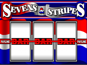 7's and Stripes - Online Slot Game