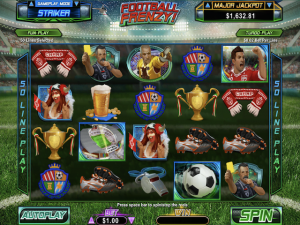 Football Frenzy - Online Slot Game