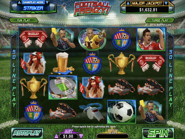 Football Frenzy Online Slot Game