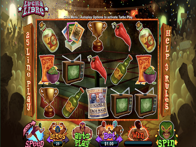Lucha Libre Slot Online Game