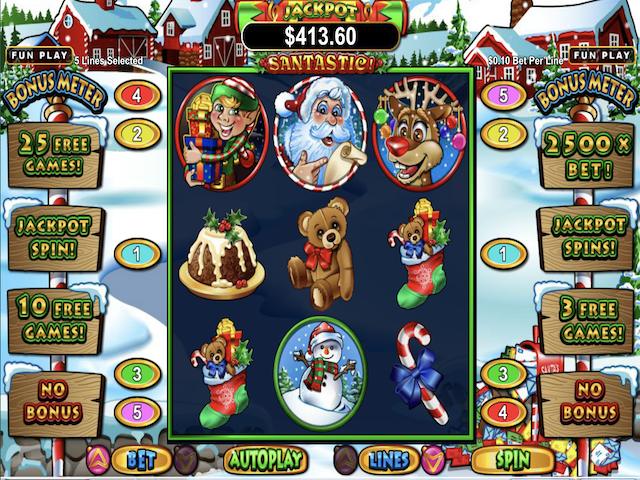 Santastic Online Slot Game