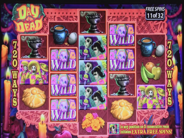 Day of the Dead Slot Online Game