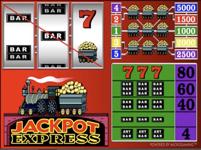 Jackpot Express Online Slot Game