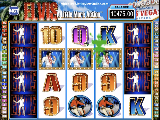 Elvis – A Little More Action Slot Online Game