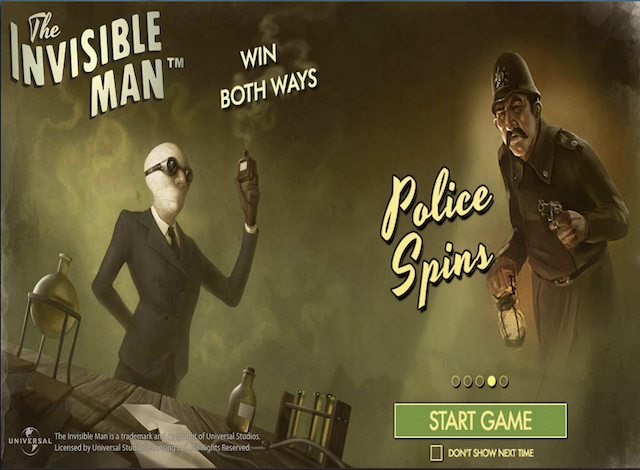 Invisible Man Online Slot Game