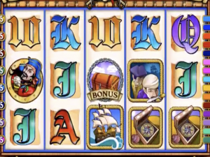 Captain Quid's Treasure Quest - Online Slot Game