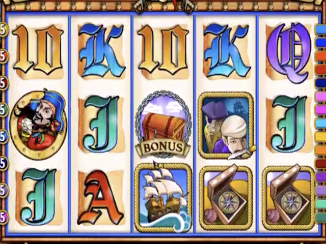 Captain Quid's Treasure Quest Online Slot Game