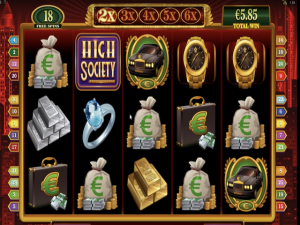 High Society - Online Slot Game