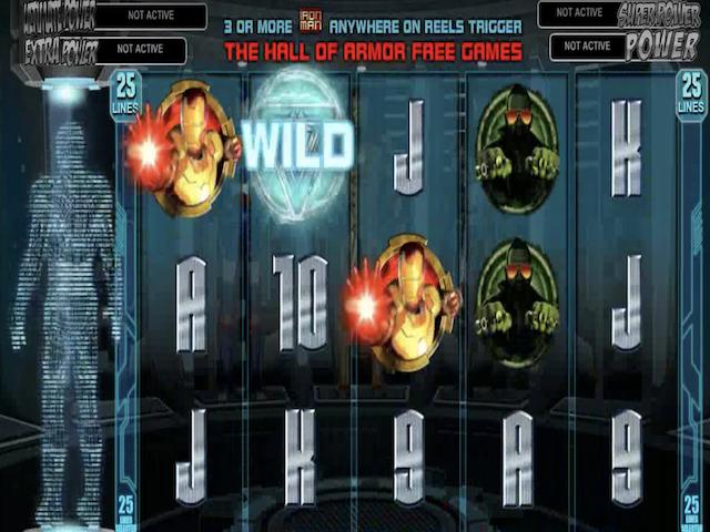 Iron Man 3 Online Slot Game